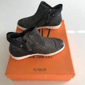 BRAND NEW.  Miz Mooz High Top Sneakers